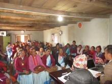 महिला स्वास्थ्य स्वयम सेविका गाउँपालिका स्तरीय अन्तरक्रिया कार्यक्रम